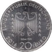 20 Euro (Nelly Sachs) -  obverse