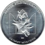 20 Euro (Bremer Stadtmusikanten) -  reverse