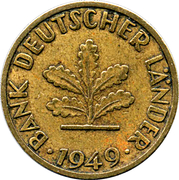 5 Pfennig (Bank of German States) – obverse