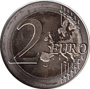 2 Euro (30 Years of EU Flag) -  reverse