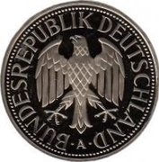 1 Deutsche Mark – obverse
