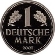 1 Deutsche Mark – reverse
