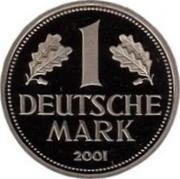1 Deutsche Mark – reverse