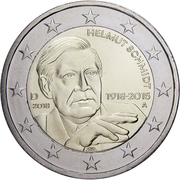 2 Euro (Helmut Schmidt) -  obverse