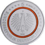 "5 Euro (""Subtropical Zone"") -  obverse"