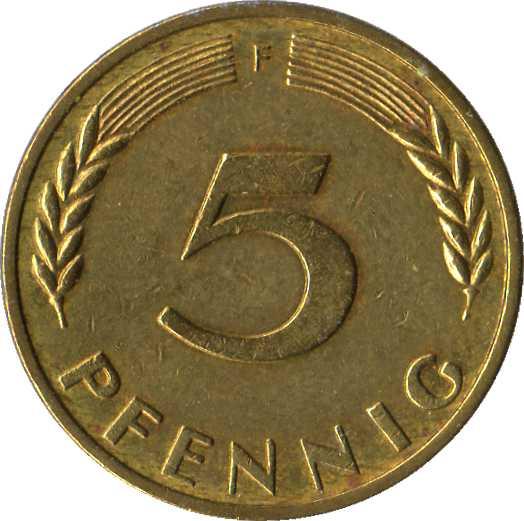 Pfennig 5 1950 слава советским пограничникам значок