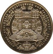 100 Euro (Schlösser in Brühl) – obverse