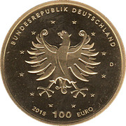 100 Euro (Schlösser in Brühl) – reverse
