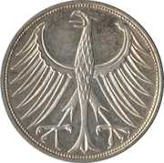 5 Deutsche Mark -  reverse