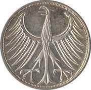 5 Deutsche Mark -  reverse