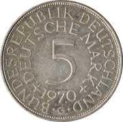 5 Deutsche Mark -  obverse