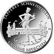 20 Euro (Tapferes Schneiderlein) -  reverse