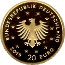 20 Euro (Peregrine Falcon) -  obverse