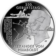 20 Euro (250. Geburtstag Alexander von Humboldt) -  obverse