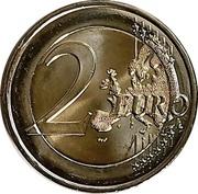 2 Euro (Berlin Wall) -  reverse