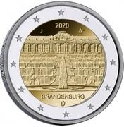 """2 Euro (Bundesländer - """"Brandenburg"""") -  obverse"""