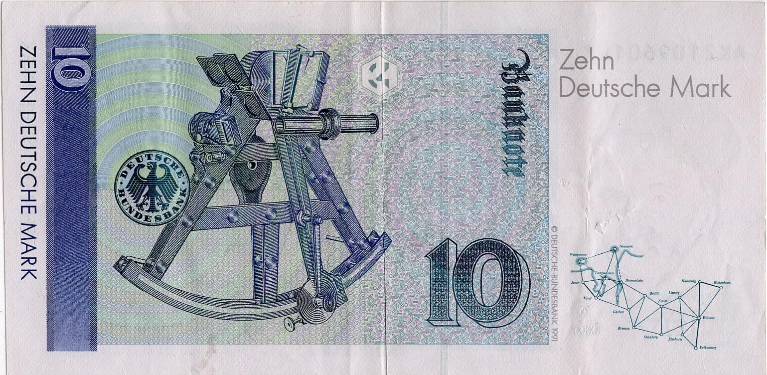 10 Deutsche Mark Germany Federal Republic Numista