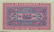 5 Deutsche Mark – reverse