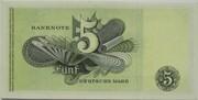 5 Deutsche Mark – reverse