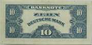 10 Deutsche Mark – reverse