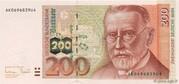 200 Deutsche Mark – obverse