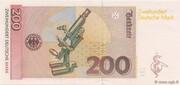 200 Deutsche Mark – reverse