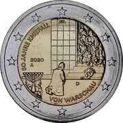 2 Euro (Kneeling to Warsaw) -  obverse