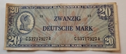 20 Deutsche Mark – obverse