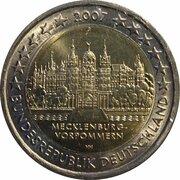 """2 Euro (Bundesländer - """"Mecklenburg-Vorpommern"""") -  obverse"""
