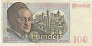 100 Deutsche Mark – reverse