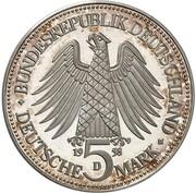 5 Deutsche Mark (Saar - Pattern) – obverse