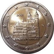 """2 Euro (Bundesländer - """"Saxony-Anhalt"""") -  obverse"""