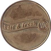 Token - Rail & fresh WC – reverse