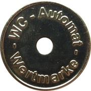 Token - WC Automat Wertmarke (type 5) – obverse