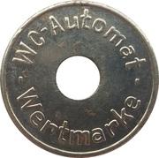 Token - WC Automat Wertmarke (type 6) – obverse