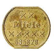 Token - Miele (685828) – reverse