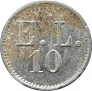 10 Pfennig - E.L. (Amberg) -  obverse