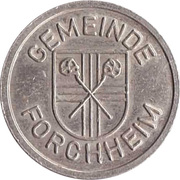 Public Swimming Pool Token - Forchheim (youth) – obverse