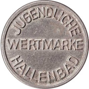 Public Swimming Pool Token - Forchheim (youth) – reverse