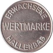 Public Swimming Pool Token - Hallenbad (adult; type 2) – obverse