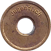 Public Swimming Pool Token - Eissporthalle Munster (youth) – reverse