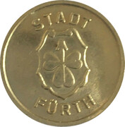 Public Swimming Pool Token - Furth (Youth) – obverse