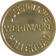 Public Swimming Pool Token - Furth (Youth) – reverse