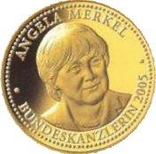 Token - Angela Merkel -  obverse