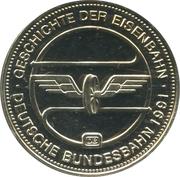 Medal - History of Railway (Intercity Express) -  reverse