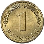 1 Pfennig (Pattern) – reverse