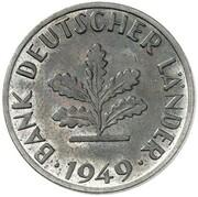 10 Pfennig (Pattern) – obverse
