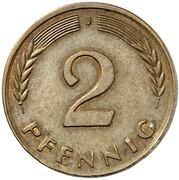 2 Pfennig (Pattern) – reverse
