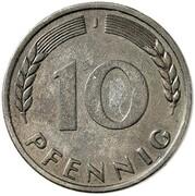 10 Pfennig (Pattern) – reverse