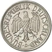 1 Deutsche Mark (Pattern) – obverse